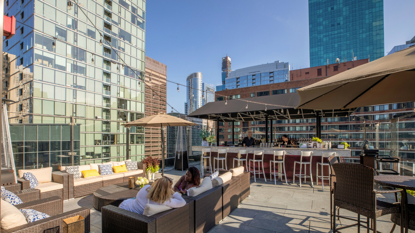 ivy hotel rooftop events